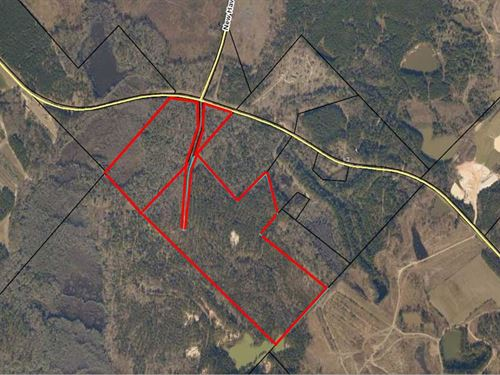 Great Land Tract Available : Gordon : Twiggs County : Georgia