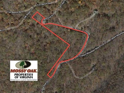 6.01 Acres of Residential Land For : Star Tannery : Frederick County : Virginia