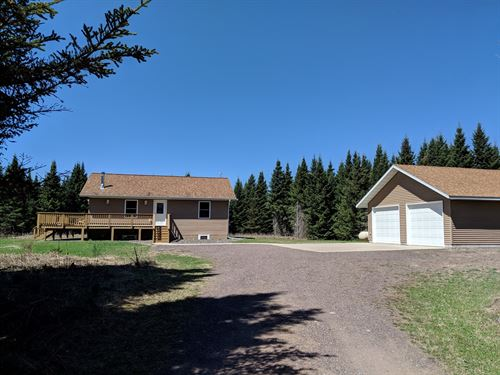 Country Home 10 Acres, Finlayson : Finlayson : Pine County : Minnesota