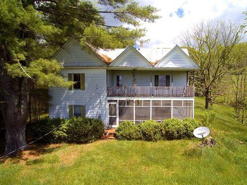 Large Acreage Blue Ridge Mountains : Troutdale : Grayson County : Virginia
