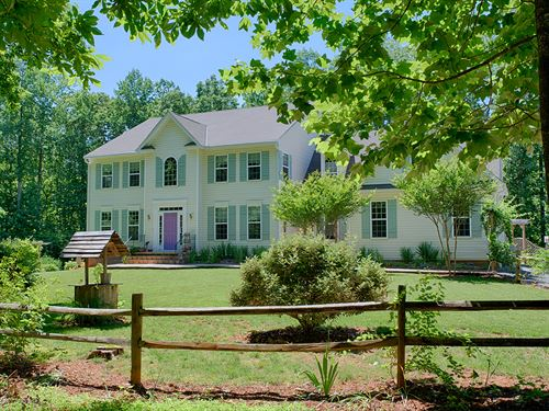 Uphill Bed & Breakfast : Gordonsville : Orange County : Virginia