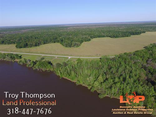 210+/- Acres Borders Boeuf Wma : Columbia : Caldwell Parish : Louisiana