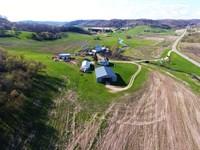 Bear Creek Farm : La Farge : Vernon County : Wisconsin