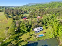 Scenic Farm On 374+/- Acres : Lafayette : Walker County : Georgia