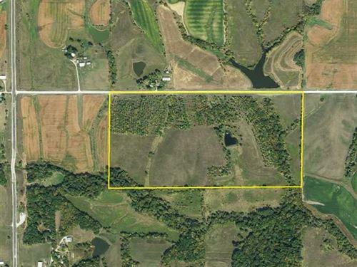 80 Ac, M/L, Land For Sale in Jeffe : Fairfield : Jefferson County : Iowa