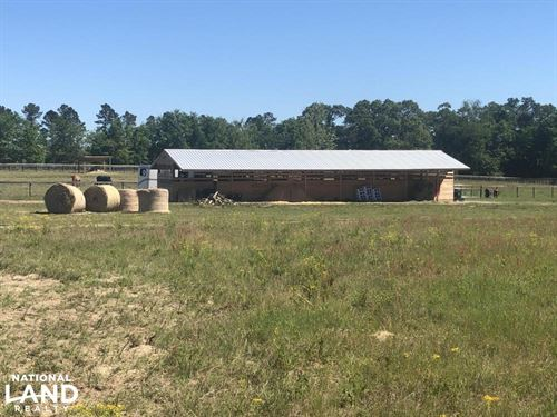 Equestrian And Hunting Property : Wagener : Aiken County : South Carolina
