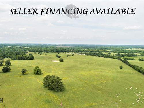 Cattle Ranch & Hunting Land Annona : Annona : Red River County : Texas