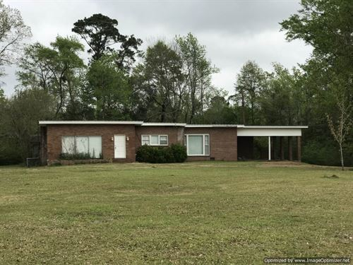Franklin, 11 Acres & House : Meadville : Franklin County : Mississippi