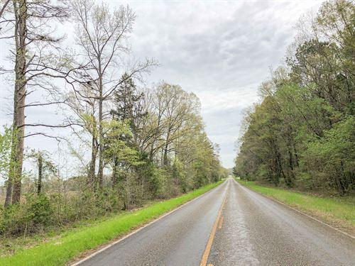 114 Acres Fm 130 Tract 1015 : Hughes Springs : Cass County : Texas