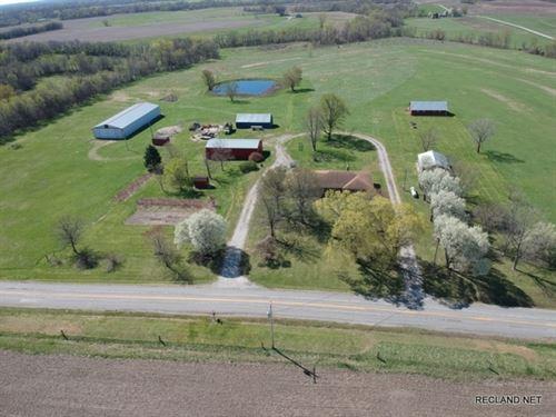 960 Ac, Farm With Home, Can Divid : Jameson : Daviess County : Missouri