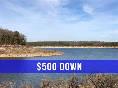 $500 Down On Land At Bull Shoals : Cedarcreek : Taney County : Missouri