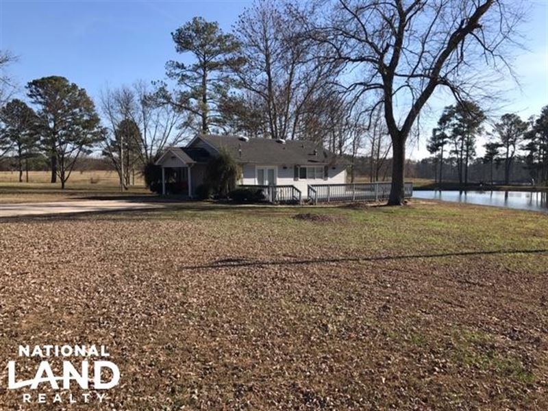 Blount County Home & Pond : Farm for Sale : Oneonta : Blount County :  Alabama