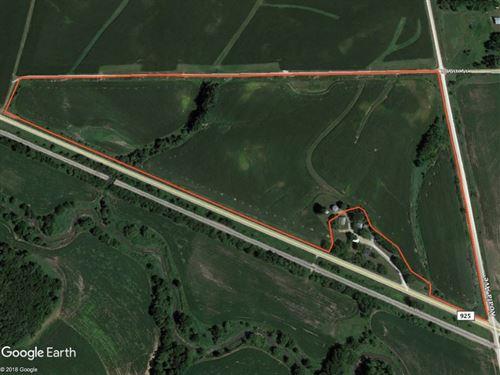 Guthrie County Iowa Tillable Farm : Casey : Guthrie County : Iowa