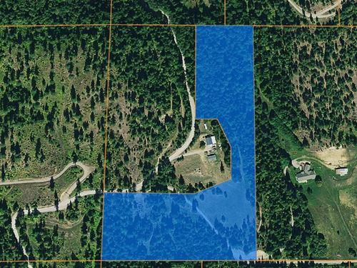 12.488 Acres of Beautiful Land : Rathdrum : Kootenai County : Idaho