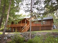 Log Home For Sale in Lowell, Maine : Lowell : Penobscot County : Maine