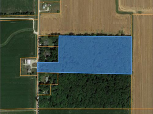 13 Acres Wooded Acreage Seneca : Fostoria : Seneca County : Ohio