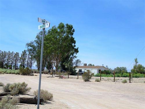 Premium 40Ac-Ag/Res-Well-Power-Nice : Newberry Springs : San Bernardino County : California