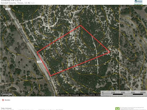 12 Acres Sisterdale, TX Beautiful : Boerne : Kendall County : Texas