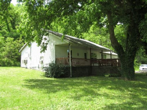 162+Ac, Home, Barns, Ponds, Creek : Gainesboro : Clay County : Tennessee