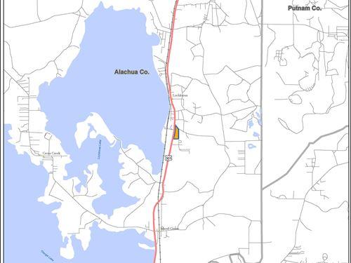 Fisher Lochloosa Tract : Hawthorne : Alachua County : Florida