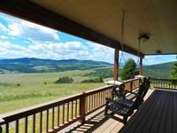 Valley View Ranch : Philipsburg : Granite County : Montana