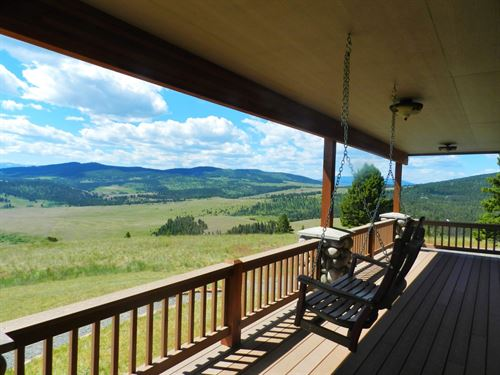 Valley View Ranch : Philipsburg : Granite County : Montana