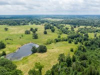 Live Water Ranch Hunting Land : Quitman : Wood County : Texas