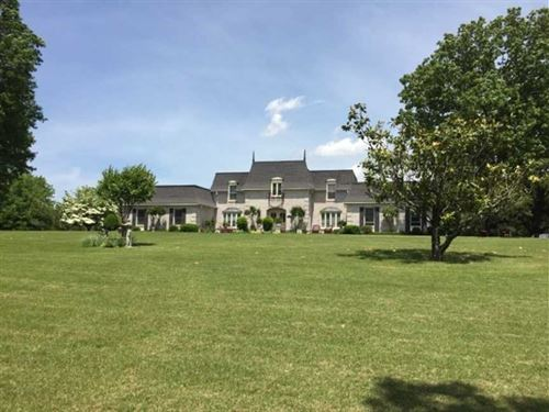 Large Home on 18 Acres For Sale Ju : Poplar Bluff : Butler County : Missouri