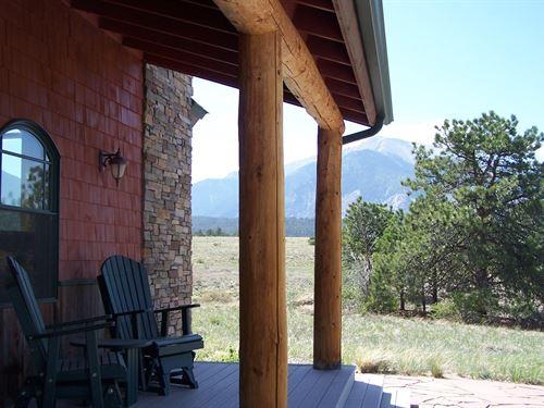 Large Acreage Home Colorado : Nathrop : Chaffee County : Colorado