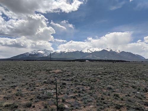 Mountain Views Acreage Country Home : Nathrop : Chaffee County : Colorado