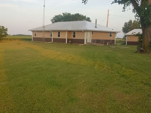 Grant County Country Home For Sale : Lamont : Grant County : Oklahoma