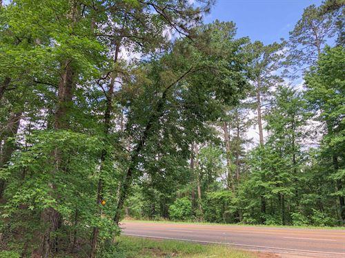 68 Acres Hwy 21 : Grapeland : Houston County : Texas