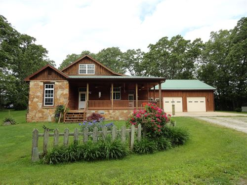 Beautiful Home Minutes From Salem : Salem : Dent County : Missouri