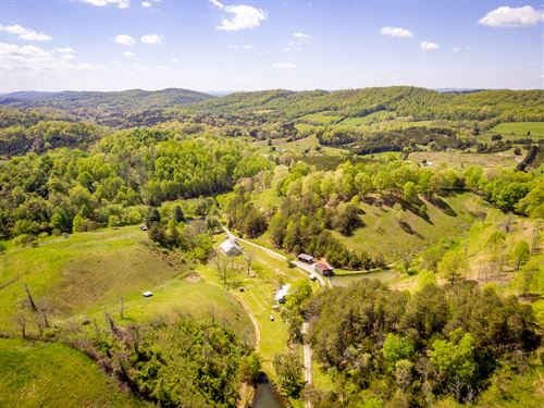 309 Acre East Tn Private Oasis : Rogersville : Hawkins County : Tennessee