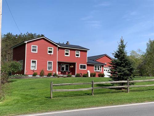 Quaint Country Living : Camden : Oswego County : New York