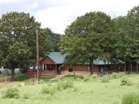 Ranch, Land, Pond, House Freestone : Oakwood : Freestone County : Texas