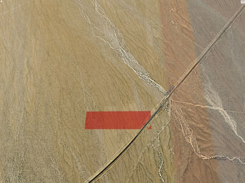 38.8 Acre Parcel Near Needles : Kelso : San Bernardino County : California