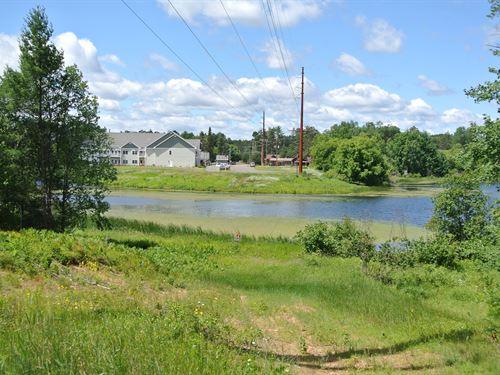 178407, 9 Ac In Heart Of Woodruff : Woodruff : Oneida County : Wisconsin