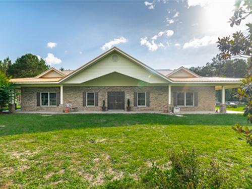 Exquisite Equestrian Farm : Wellborn : Suwannee County : Florida