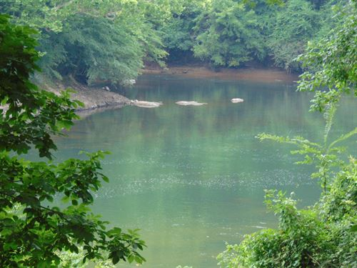 Mature Timber Riverfront High Bank : Juliette : Jones County : Georgia