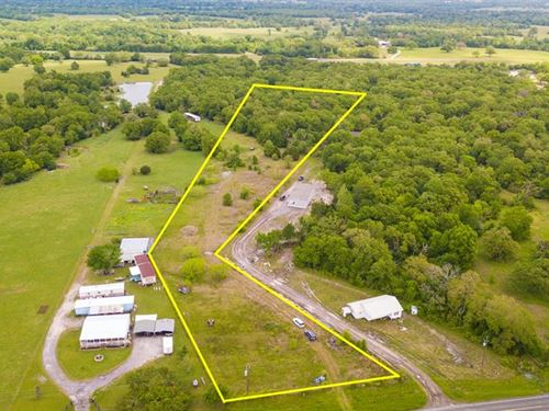 Rare Small Acreage Opportunity : Madisonville : Madison County : Texas