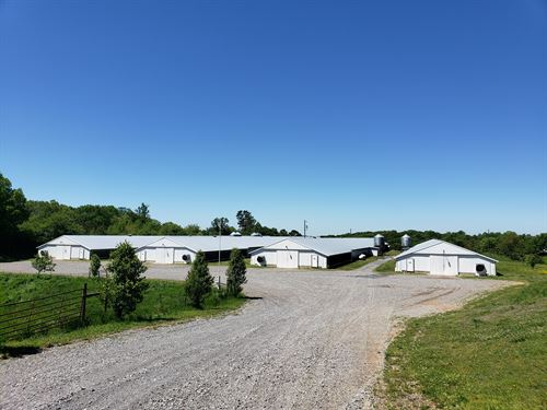 4 House Broiler Poultry Farm : Jasper : Pickens County : Georgia