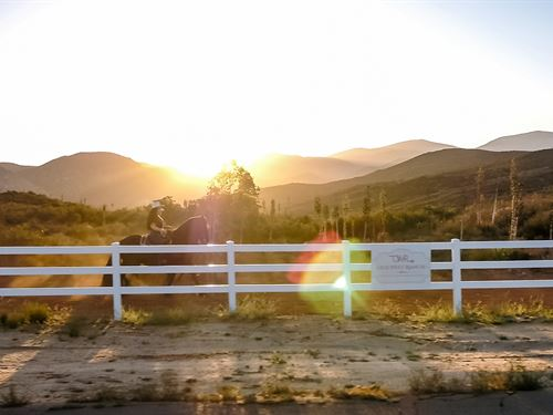 Old West Ranch, Buckskin : Ramona : San Diego County : California