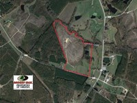 51 Acres of Farm And Hunting Land : Gasburg : Brunswick County : Virginia