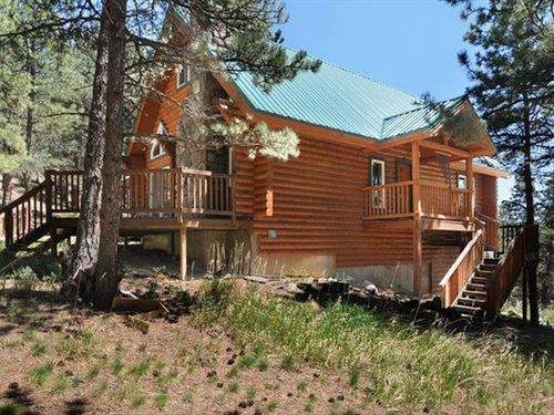 Log Cabin & 35 Acres : Loveland : Larimer County : Colorado