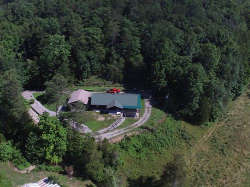 174+ Acre Farm/Home/Barn Creek : Liberty : Casey County : Kentucky