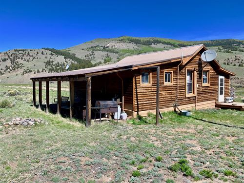Hunting Cabin / Year Round Access : Powderhorn : Hinsdale County : Colorado