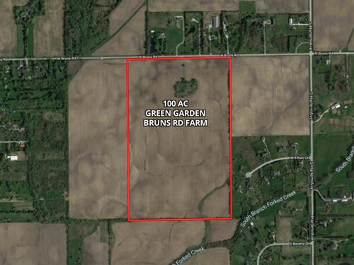 100 Ac Green Garden Twp, Farm : Monee : Will County : Illinois