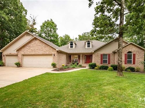 Large Home on 48.2 Acres For Sale : Poplar Bluff : Butler County : Missouri