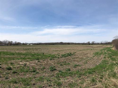 Tillable Farm Ground Filley, MO : Stockton : Cedar County : Missouri